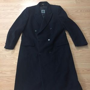 Vintage Christian Dior Wool Trench Coat
